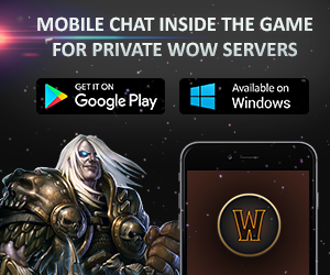 Mobile WoW Clien for 2.4.3 / 3.3.5a